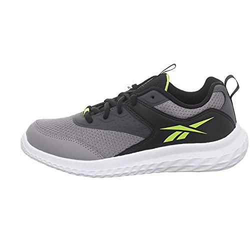 Reebok Rush Runner 4.0, Zapatillas de Running, PUGRY5/NEGRO/ACIYEL, 36 EU