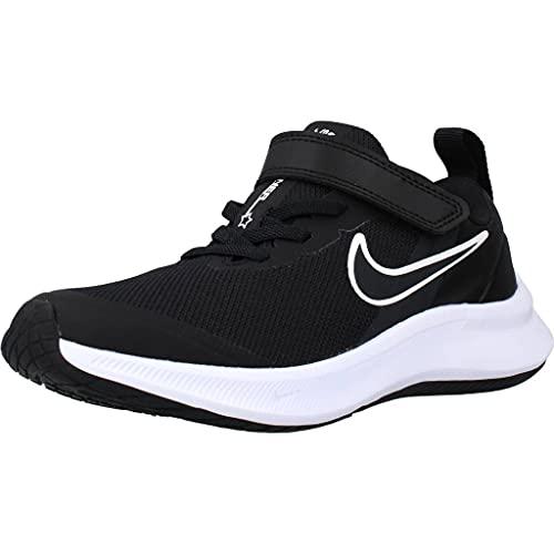 Nike Star Runner 3, Zapatos de Tenis Unisex niños, Black Dk Smoke Grey Dk Smoke Grey, 33 EU
