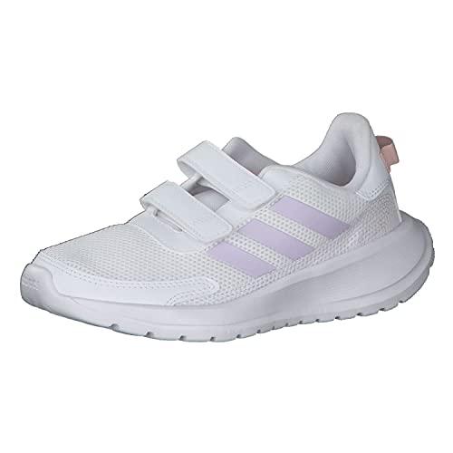 adidas TENSAUR Run C, Zapatillas de Running, FTWBLA/MATPUR/ROSVAP, 28 EU