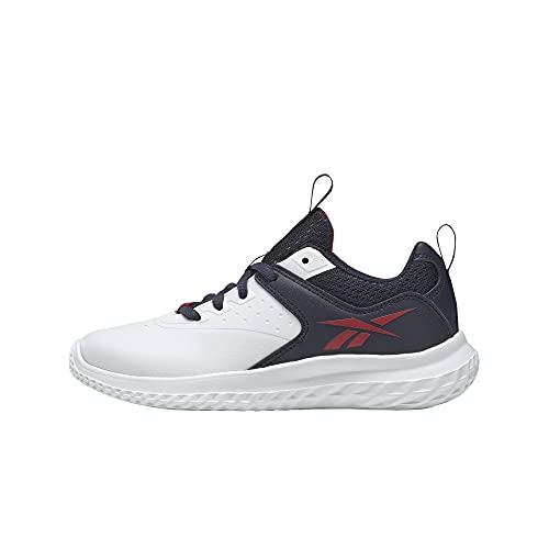 Reebok Rush Runner 4.0 Syn, Zapatillas de Running, FTWBLA/VECNAV/VECRED, 38 EU