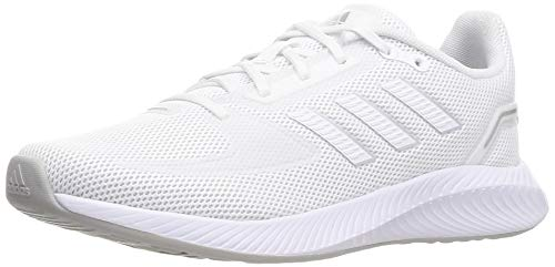 Adidas RUNFALCON 2.0, Zapatillas Unisex Adulto, Ftwbla Ftwbla Plamet, 39 1/3 EU