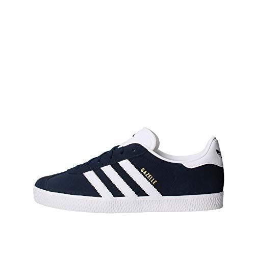 adidas Gazelle C, Zapatillas Unisex Niños, Azul (Collegiate Navy/Footwear White/Footwear White 0), 34 EU