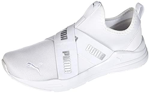 Puma Wired Run Slipon Wmn, Zapatillas Deportivas Mujer, White-PU, 41 EU