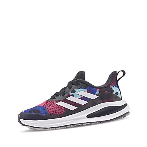 adidas Fortarun K, Zapatillas de Running, NEGBÁS/FTWBLA/TONVIO, 34 EU