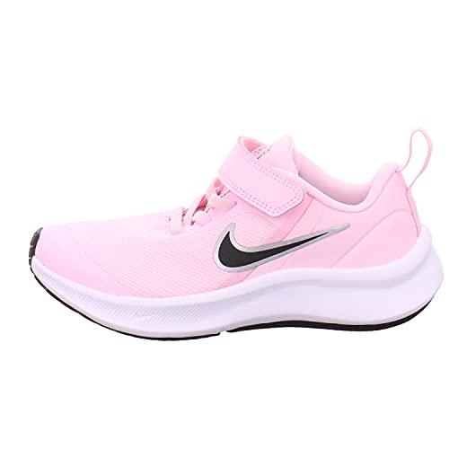 Nike Star Runner 3, Zapatos de Tenis Unisex niños, Pink Foam Black, 32 EU