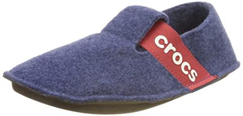 Crocs Classic Slipper K, Zapatillas de estar por casa, Unisex Niños, Azul (Cerulean Blue), 30-31 EU