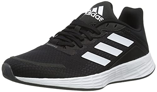 adidas Duramo SL, Sneaker Mujer, Core Black/Footwear White/Grey, 38 EU