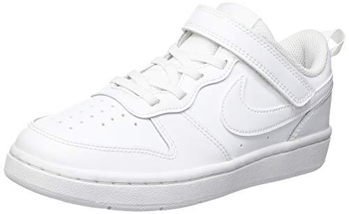Nike Court Borough Low, Zapatillas, Blanco 51, 35 EU