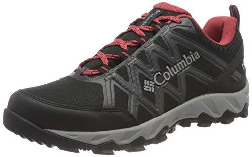 Columbia Peakfreak X2 Outdry, Zapatos de Senderismo, para Mujer, Black, Daredevil, 38 EU