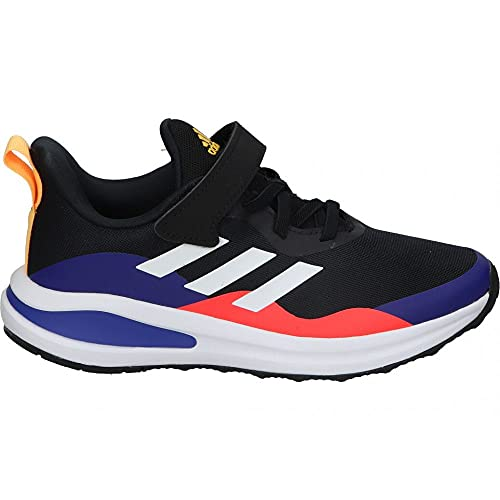 adidas Fortarun EL K, Zapatillas de Running, NEGBÁS/FTWBLA/TINSON, 36 2/3 EU