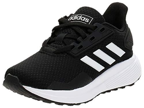 Adidas Duramo 9 K, Zapatillas de Running, Negro (Core Black/FTWR White/Core Black Core Black/FTWR White/Core Black), 28 EU