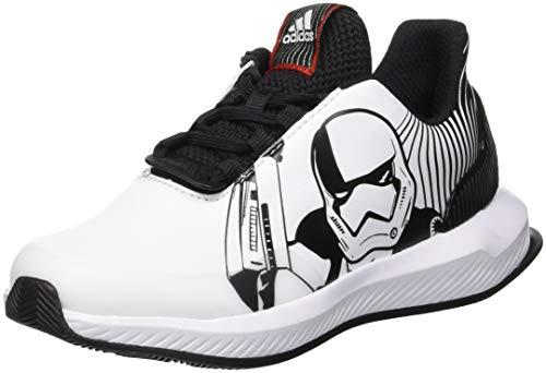 adidas RapidaRun Starwars K, Zapatillas de Running Unisex Adulto, Negro (Core Black/FTWR White/Scarlet), 36 2/3 EU