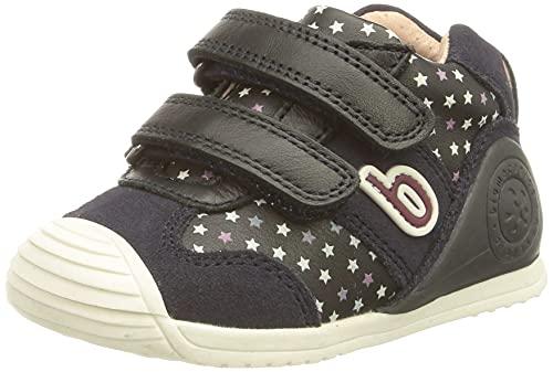 Biomecanics 211130, Zapatillas Niñas, Azul Marino Y Estrellas (Sauvage Y Estampado), 20 EU