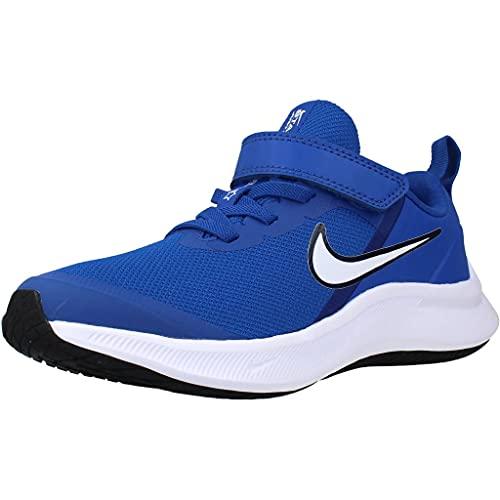Nike Star Runner 3, Zapatos de Tenis, Juego Royal White Midnight Navy, 35 EU