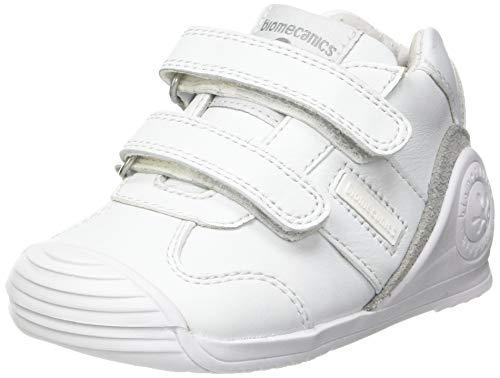 Biomecanics 151157, Zapatillas Unisex niños, Blanco (Super Soft), 24 EU