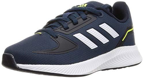 adidas RUNFALCON 2.0 K, Zapatillas de Running, AZMATR/FTWBLA/Tinley, 38 EU