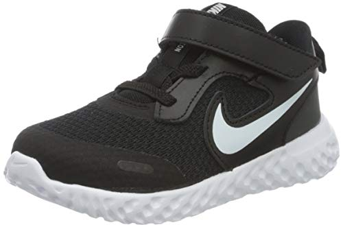NIKE Revolution 5, Zapatillas de Correr, Negro (Black White Anthracite), 34 EU