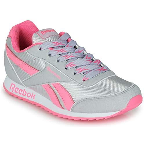 Reebok Royal CLJOG 2, Zapatillas de Running, CDGRY2/ELEPNK/BLANCO, 30 EU
