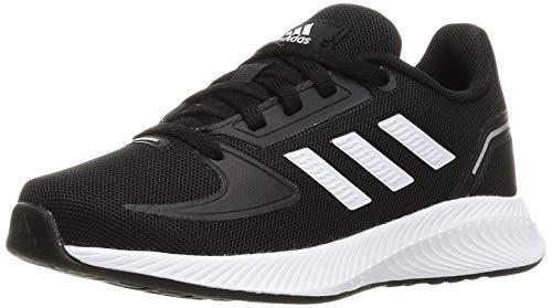 adidas RUNFALCON 2.0 K, Zapatillas de Running, NEGBÁS/FTWBLA/Plamet, 37 1/3 EU