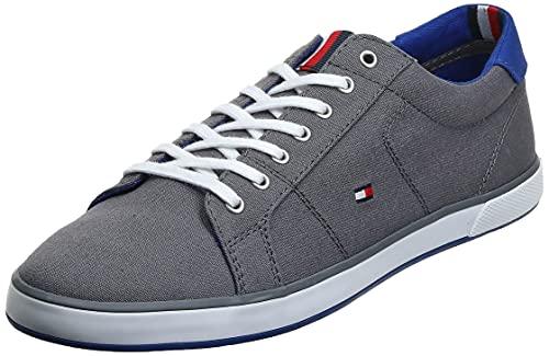 Tommy Hilfiger H2285arlow 1d, Zapatillas Hombre, Gris (Steel Grey 596), 44 EU