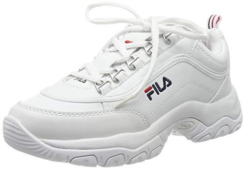 FILA Strada wmn zapatilla Mujer, blanco (White), 37 EU
