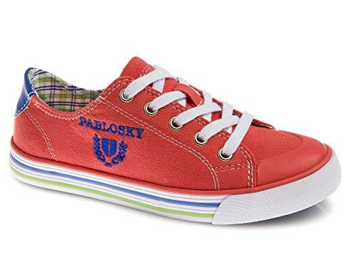 Zapatillas De Lona Niño Pablosky Rojo 962981 39