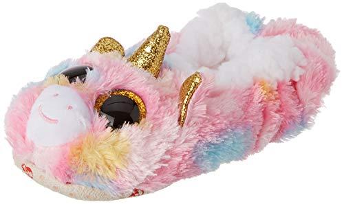 Pantuflas pequeñas, talla 30, diseño de unicornio