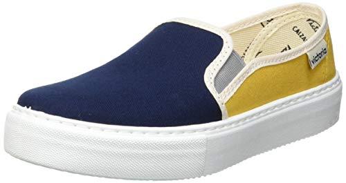 Victoria Juegos Slip ON Lona Multicolor, Zapatillas, Azul Marino, 29 EU