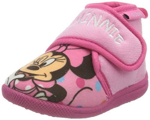 CERDÁ LIFE'S LITTLE MOMENTS 2300004566_T023-C07, Zapatillas de Casa Minnie-Licencia Oficial Disney Niñas, Rosa, 23 EU