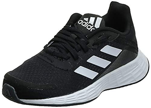 adidas Duramo SL, Road Running Shoe, Core Black/Cloud White/Dash Grey, 40 EU