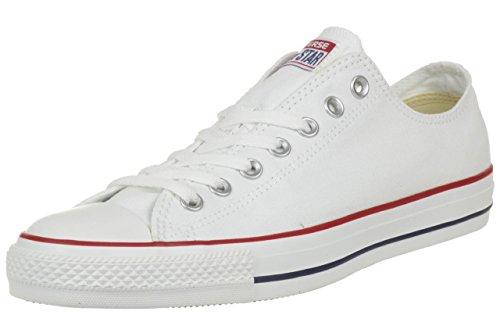 Converse All Star Ox Canvas Zapatillas Blancas- UK 8