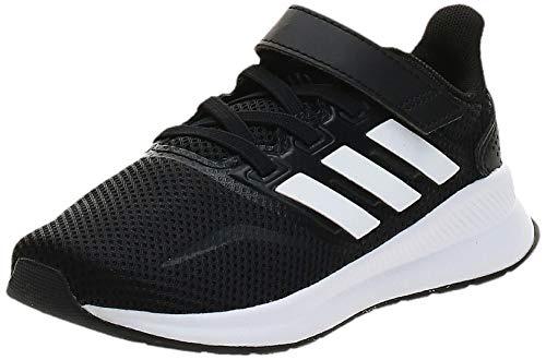 Adidas RUNFALCON C, Zapatillas de Running Unisex niño, Negro (Negbás/Ftwbla/Negbás 000), 31.5 EU