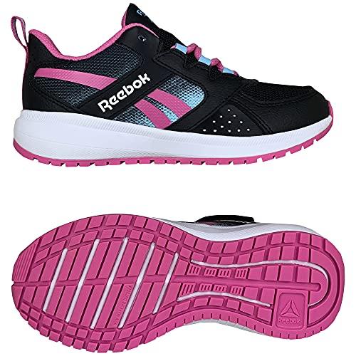 Reebok Road Supreme 2.0, Zapatillas de Running Mujer, NEGBÁS/TRUPNK/DGTBLU, 38 EU