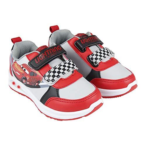 Zapatos Deportivos, Zapatillas Deportivas de Car con Luces para Niños (Numeric_24)