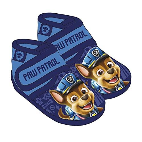 CERDÁ LIFE'S LITTLE MOMENTS, Zapatilla Bota para Andar por Casa Bebé Niño de Paw Patrol Movie-Licencia Oficial Nickelodeon, Azul, 24 EU