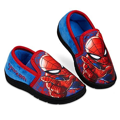 Spiderman Zapatillas Casa Niño, Zapatillas Niño con Suela Antideslizante, Merchandising Oficial Regalos para Niños (34/35, numeric_34)